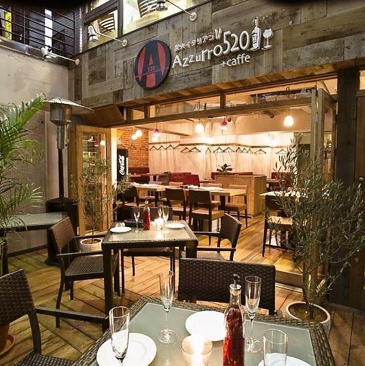Azzurro520+Caffe 西葛西店のメイン画像1