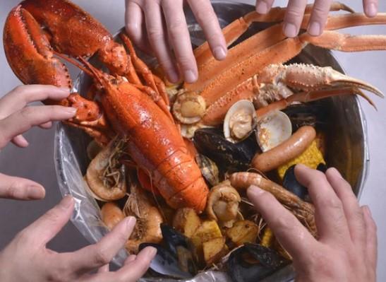 手づかみシーフードマッキーズ Makky's The Boiling Shrimpの画像5