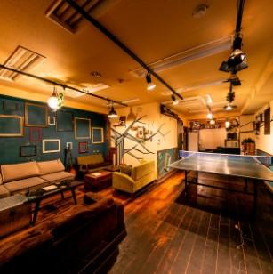 卓球+カジュアルダイニング Nanpeidai Loungeのメイン画像1