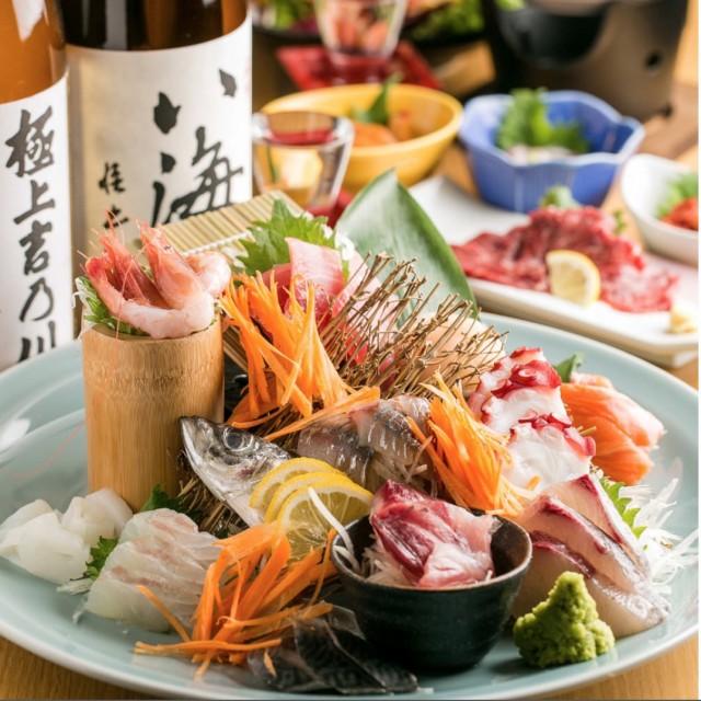 肉VS魚 個室居酒屋 肉浜 新橋店のメイン画像1
